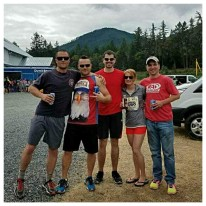 Van 1, minus Laurie who was running her first.